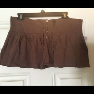 Cute summer mini skirt